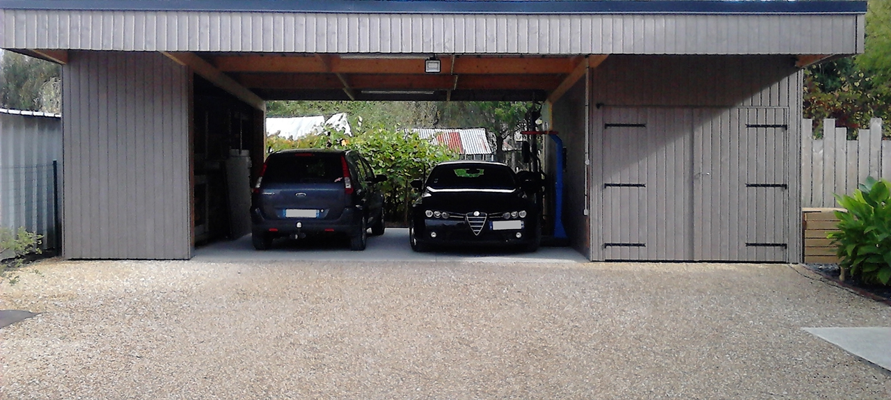 Garage, Car-port